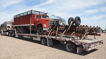 Transport Dodge D800 and Miller Disk