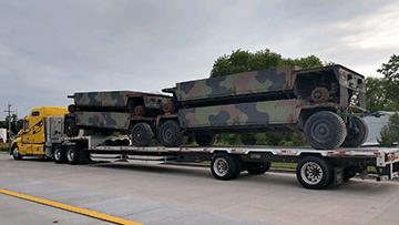 Transport DRS M989A1 HEMAT Trailers