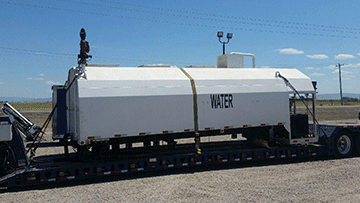 Shipping a Water Tank