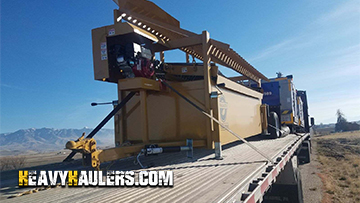 A properly secured mobile screener