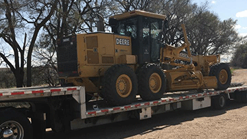 Motor Graders Shipping Services | Heavy Haulers | (800) 908-6206