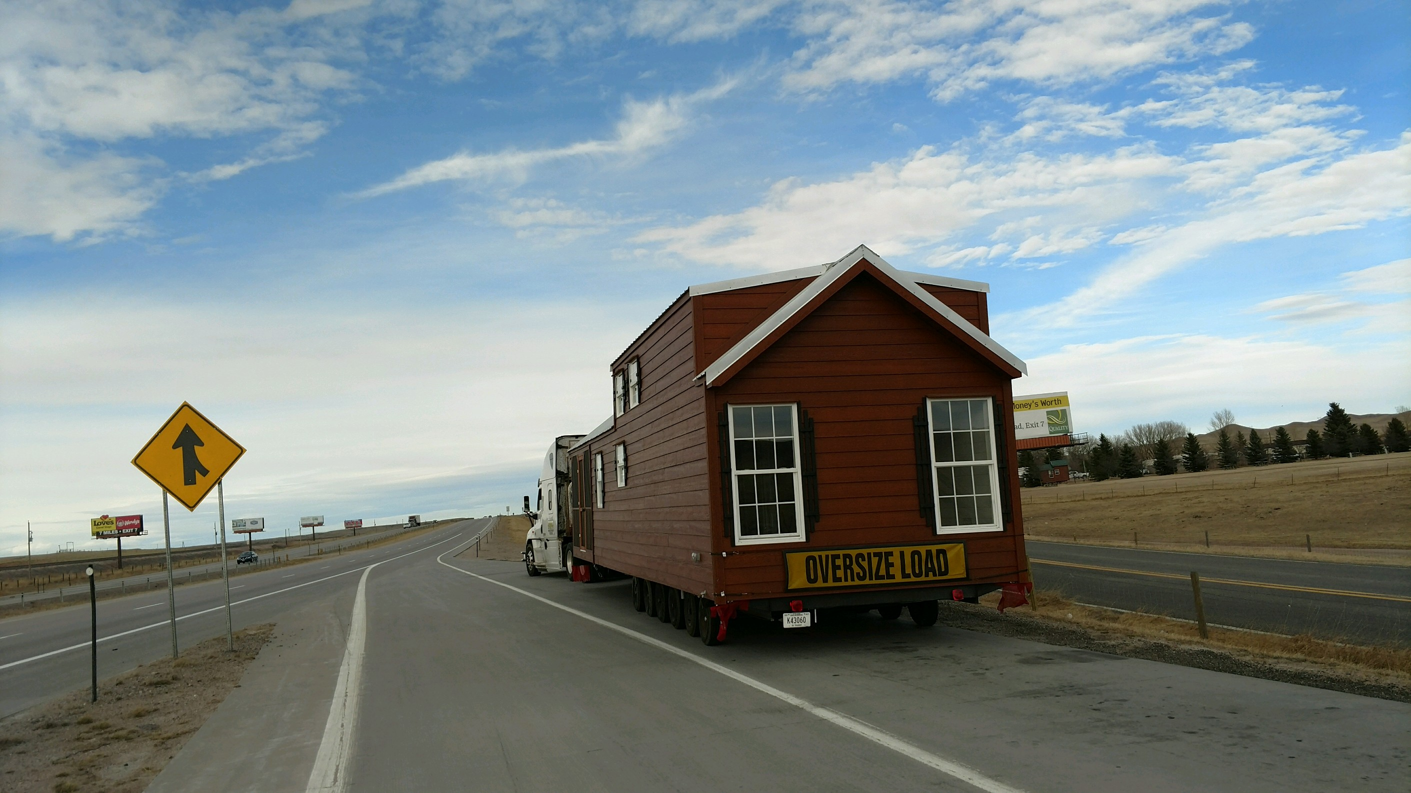 Shipping Mobile Home