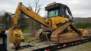 Caterpillar 517 Bulldozer Tranportation Service