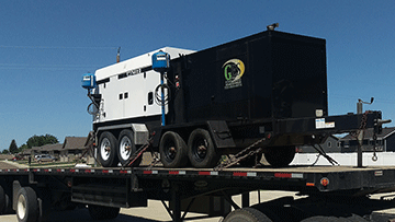 Ingersol Rand Generator Tranportation Service