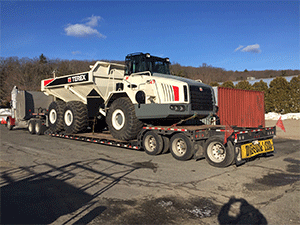 Terex TA40 Off Road Dump Truck Transport