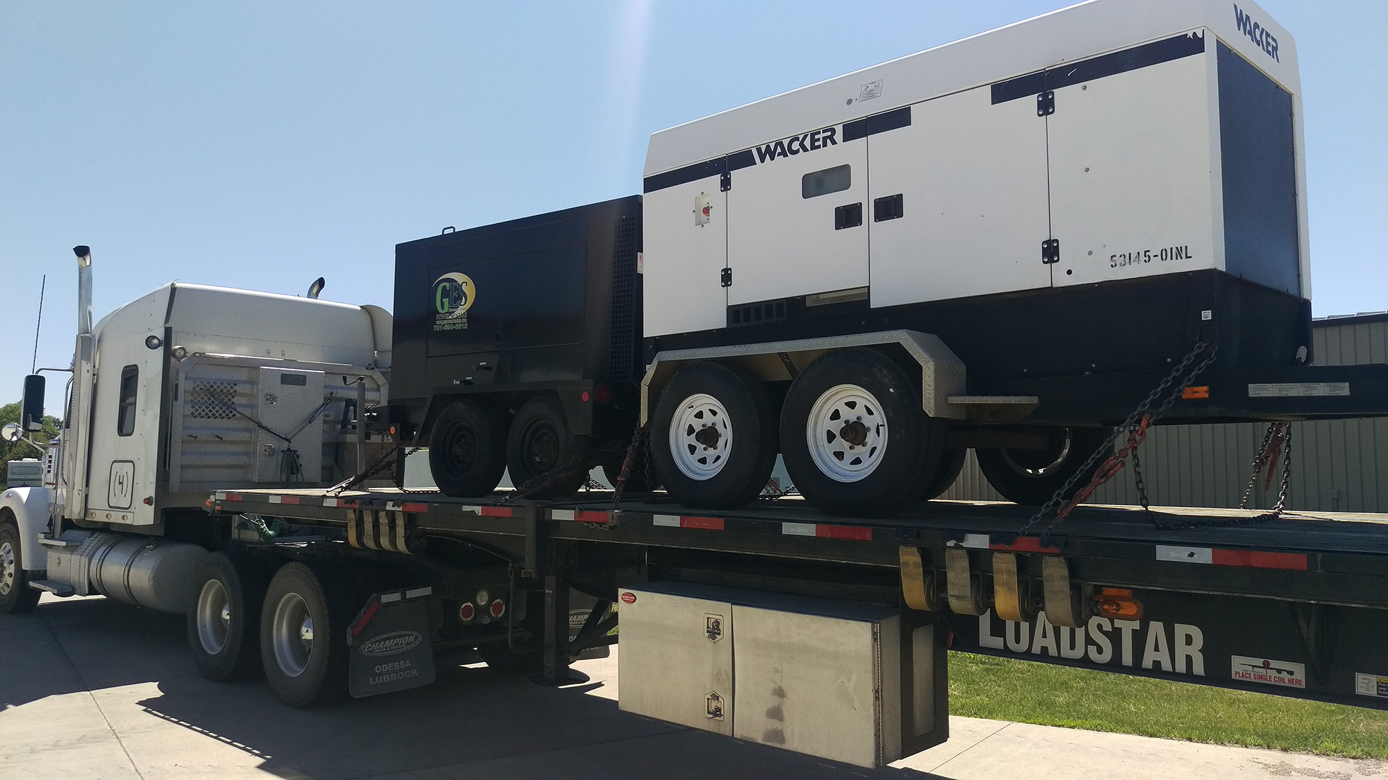 Flatbed Trailer Hauling Services | Heavy Haulers