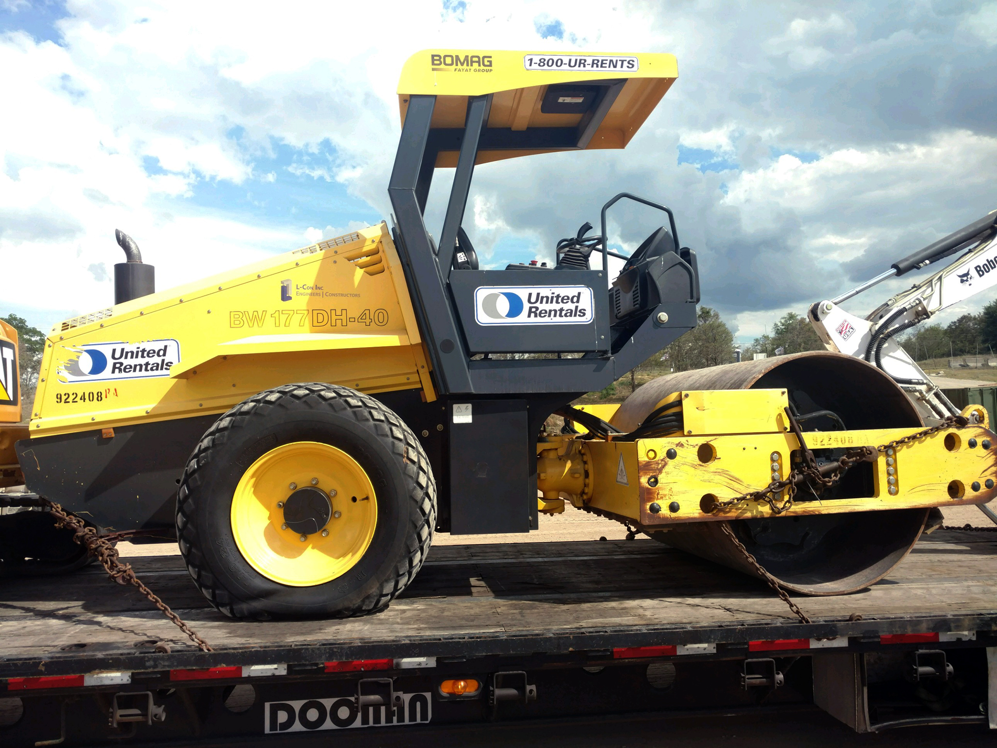 Paving Equipment Transport Services | Heavy Haulers | (800) 908-6206