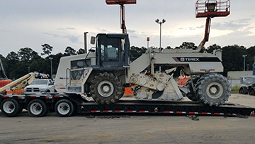 Shipping a 2011 Terex RS446 Road Reclaimer