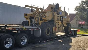 Transporting CMI RS500 Road Reclaimer