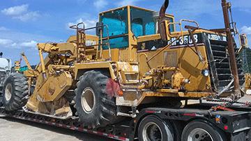 Shipping Caterpillar RM350B Road Reclaimer