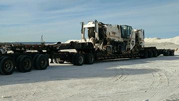 Wirtgen 2200SM Surface Miner In Transport