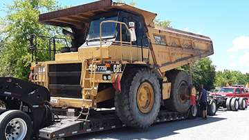 Articulated Dump Truck Transport Services | Heavy Haulers