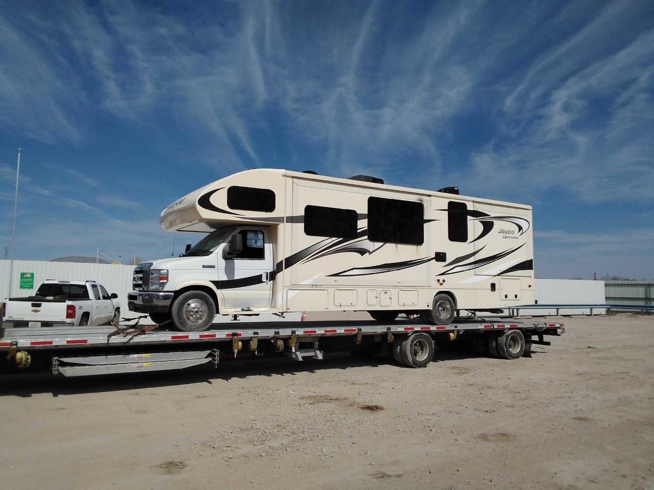 Shipping an RV in Kansas
