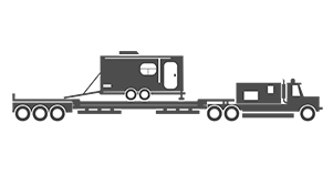 Towable rv illustration