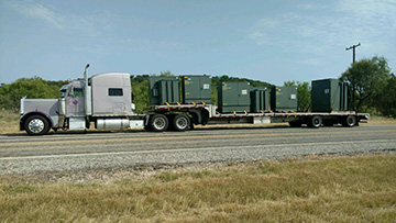 Screen Heating Transformer Hauling