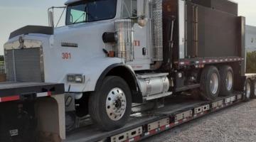 2008 Kenworth Semi-Truck Hauled from IL to Lake Wales, FL
