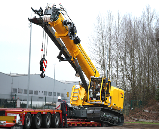 Heavy Haulers can handle shipping your Construction Excavator