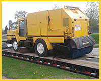 Ground Transportation for Heavy Equipment Export