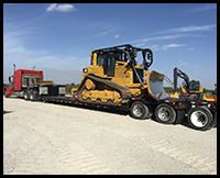 International Shipping for Heavy Equipment Export