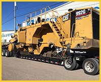 Heavy Construction Equipment Shipping