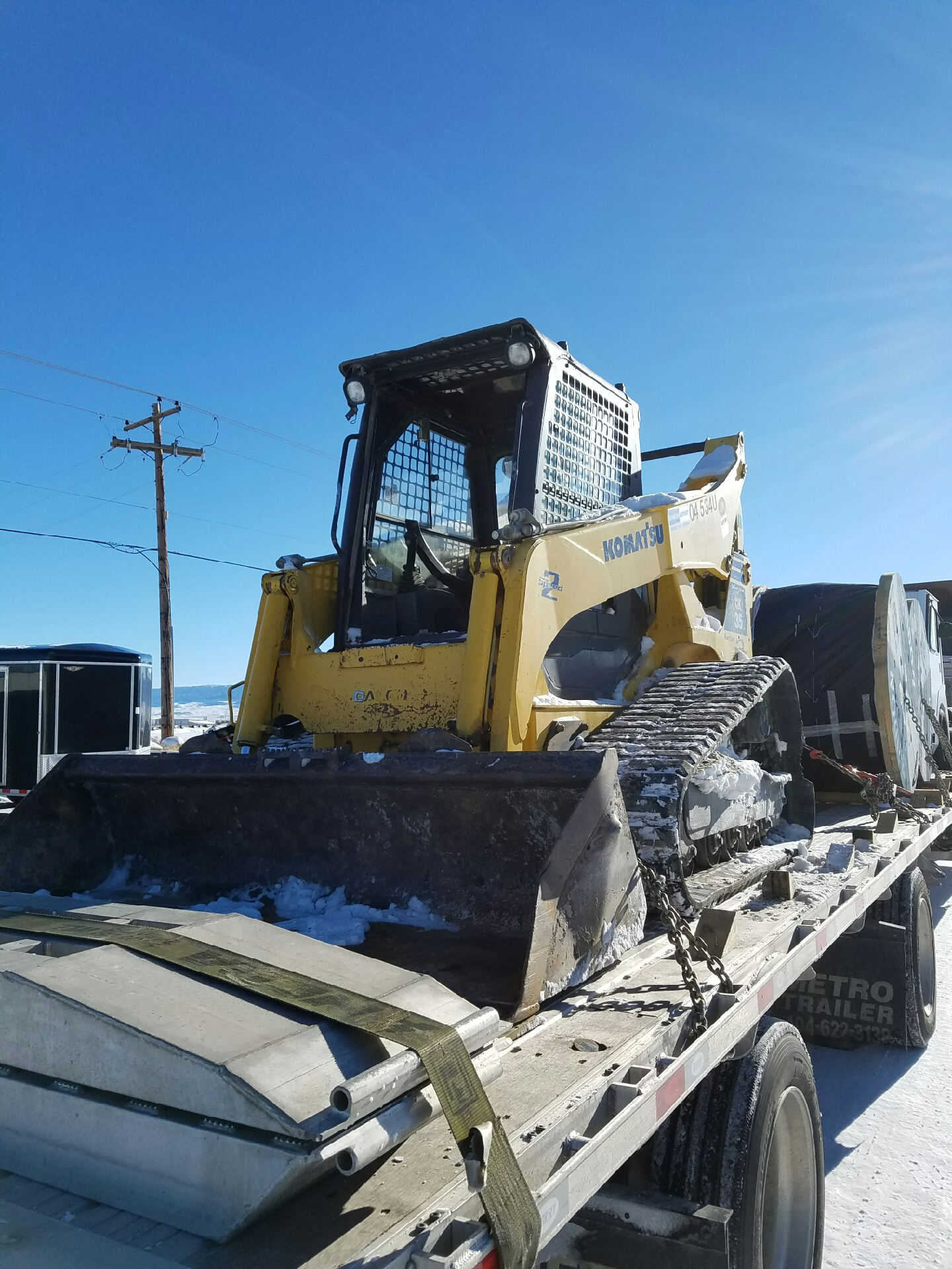 Skid Steer Shipping Services | Heavy Haulers | (800) 908-6206