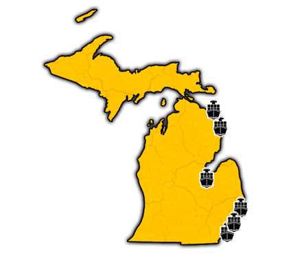 Michigan State Port Shipping Services