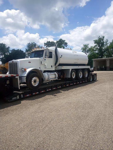 Shipping a tank truck in Louisiana