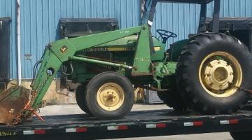 JJohn Deere 2150 Tractor shipped from DE to NY