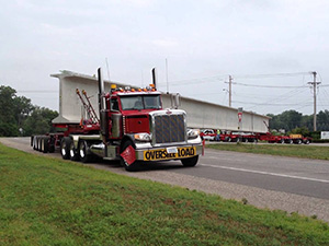 Heavy Haulers Beam Trailer Shipping Services