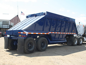 Heavy Haulers Belly Dump Trailer Shipping Services