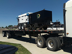 Flatbed Trailer Shipping