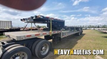 Transporting a step deck in Minnesota