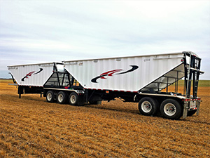 Heavy Haulers Conveyor Belt Trailer Shipping Services