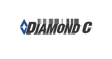 Diamond C trailer logo