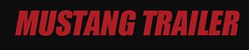 Mustang trailer logo