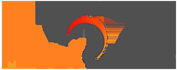Peach Cargo trailer logo