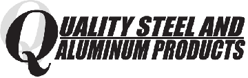 Quality Steel and Aluminum trailer logo