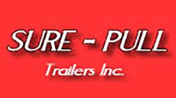 Sure Pull trailer logo