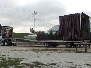 Heavy Haulers RGN / Extended RGN Trailer Shipping Services