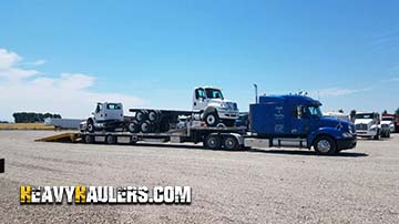 2015 Freightliner Cascadia day cab shipped by Heavy Haulers