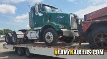 Shipping a Kenworth daycab
