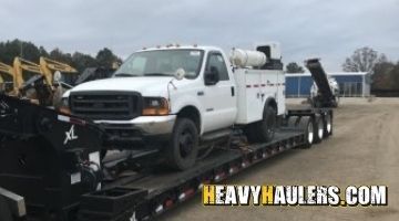 Ford mechanic truck shipped