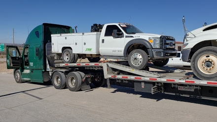 Service truck shipping in Oklahoma