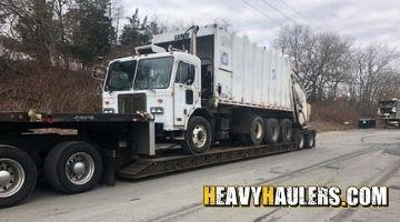 Garbaage truck transport in Vermont