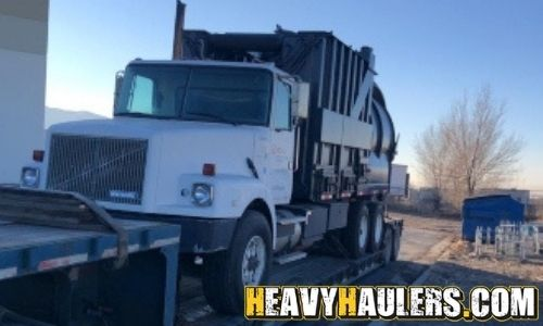 Air mover truck transport