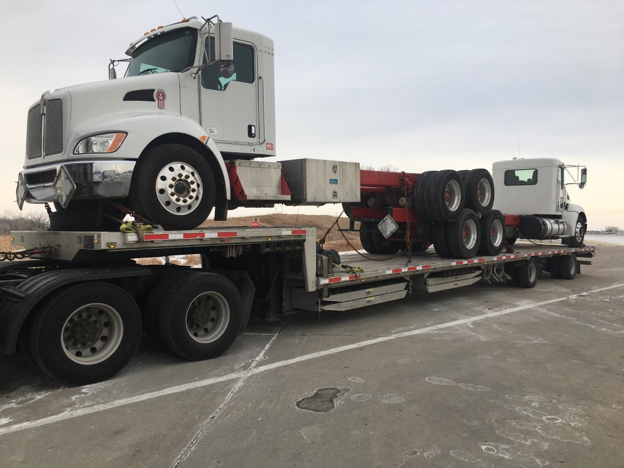 Shipping a truck in Nebraska