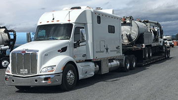 Shipping 2008 International 7400 Vacuum Truck