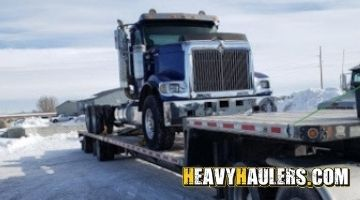 Nevada semi truck transport