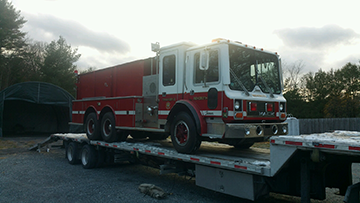 Fire Truck shipping Services