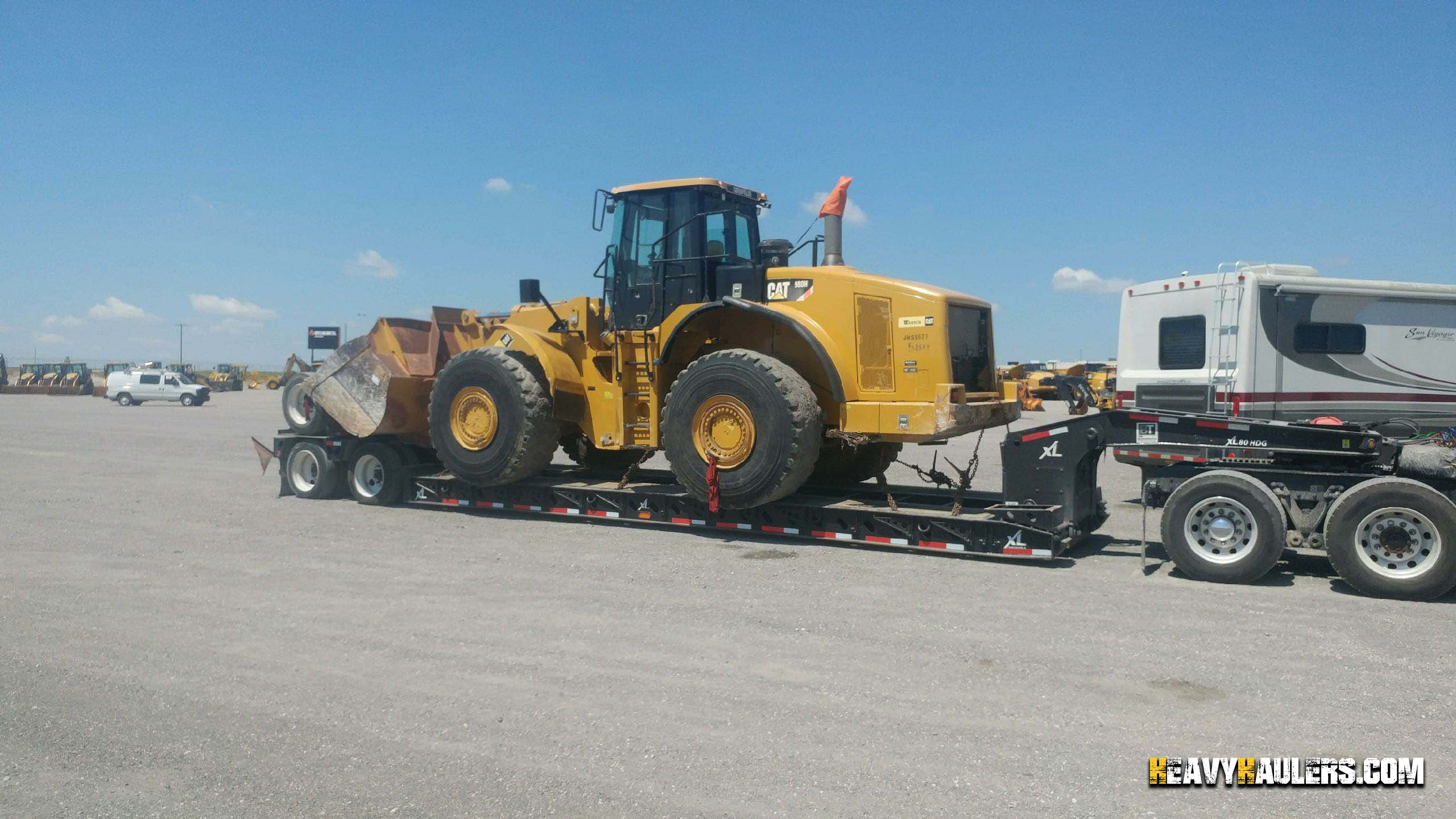 Wheel Loader Shipping | Heavy Haulers | (800) 908-6206
